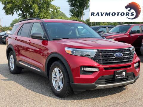 2020 Ford Explorer for sale at RAVMOTORS in Burnsville MN