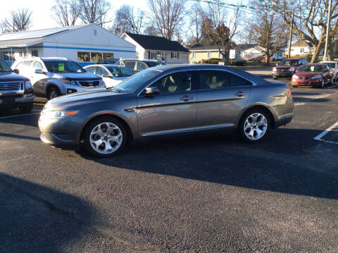 2012 Ford Taurus for sale at BISHOP MOTORS inc. in Mount Carmel IL