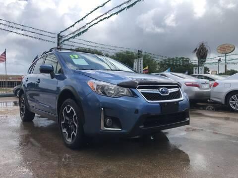 2017 Subaru Crosstrek for sale at SOUTHWAY MOTORS in Houston TX