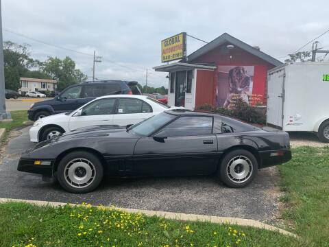 1984 Chevrolet Corvette for sale at GLOBAL AUTOMOTIVE in Grayslake IL
