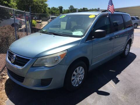 2009 Volkswagen Routan for sale at Deckers Auto Sales Inc in Fayetteville NC