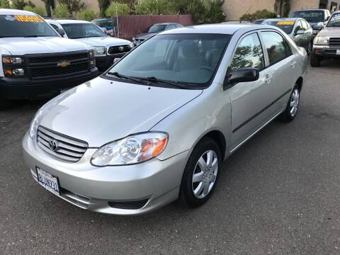 2003 Toyota Corolla for sale at C. H. Auto Sales in Citrus Heights CA