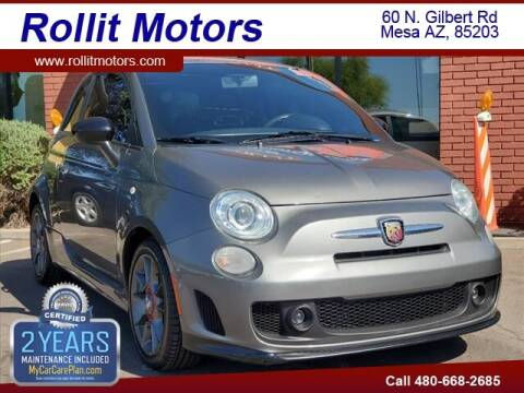 2013 FIAT 500 for sale at Rollit Motors in Mesa AZ