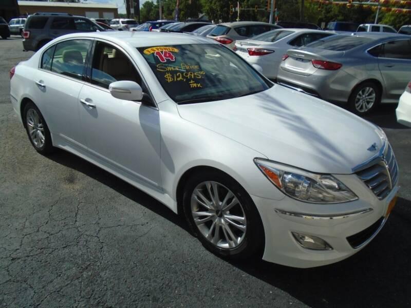 2014 Hyundai Genesis for sale at River City Auto Sales in Cottage Hills IL