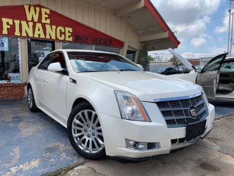 2013 Cadillac CTS for sale at Caspian Auto Sales in Oklahoma City OK