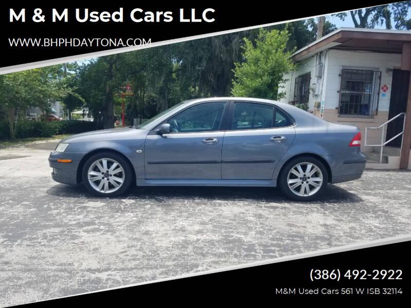 2007 Saab 9-3 for sale at M & M Used Cars LLC in Daytona Beach FL