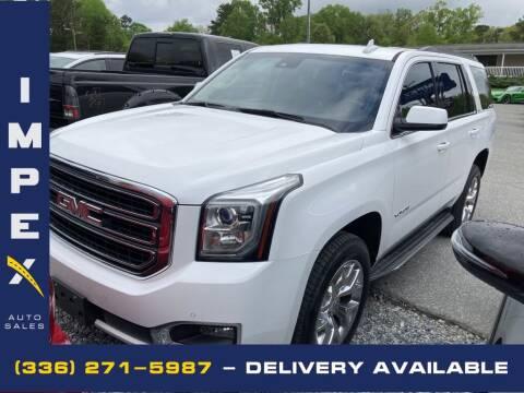 2016 GMC Yukon for sale at Impex Auto Sales in Greensboro NC
