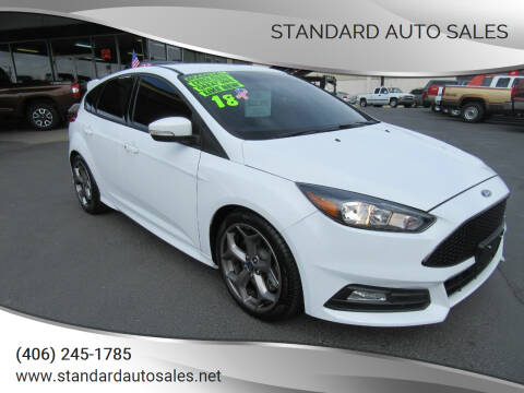 2018 Ford Focus for sale at Standard Auto Sales in Billings MT