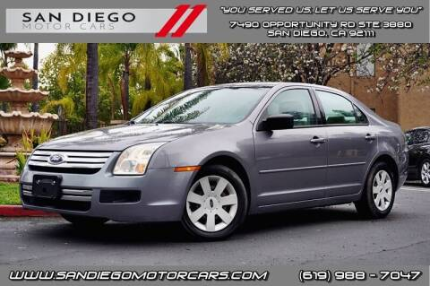 2007 Ford Fusion for sale at San Diego Motor Cars LLC in San Diego CA
