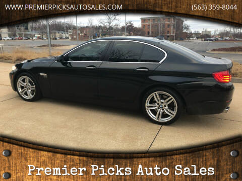 2012 BMW 5 Series for sale at Premier Picks Auto Sales in Bettendorf IA
