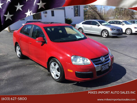 2007 Volkswagen Jetta for sale at Mikes Import Auto Sales INC in Hooksett NH