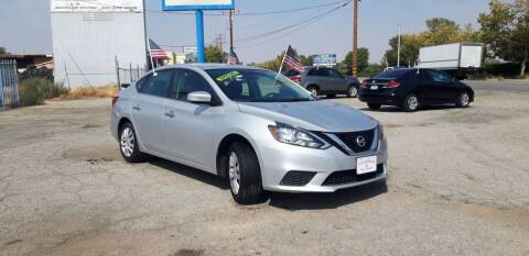 2017 Nissan Sentra for sale at Autosales Kingdom in Lancaster CA