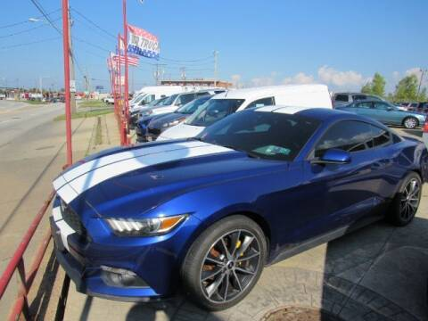 2016 Ford Mustang for sale at Tony's Auto World in Cleveland OH