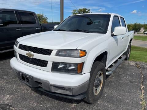 2012 Chevrolet Colorado for sale at Blake Hollenbeck Auto Sales in Greenville MI