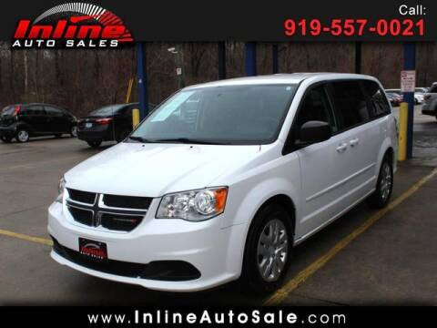 2016 Dodge Grand Caravan for sale at Inline Auto Sales in Fuquay Varina NC