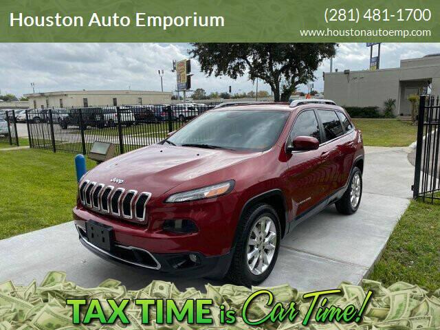 2014 Jeep Cherokee for sale at Houston Auto Emporium in Houston TX