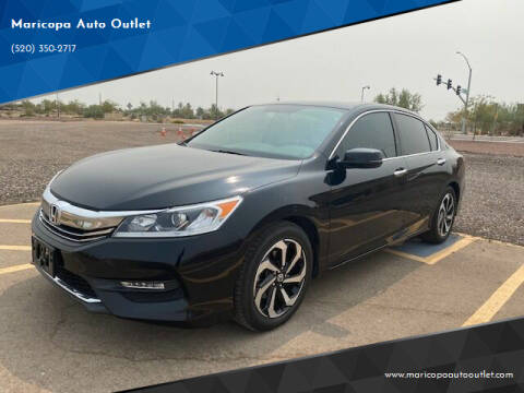 2017 Honda Accord for sale at Maricopa Auto Outlet in Maricopa AZ