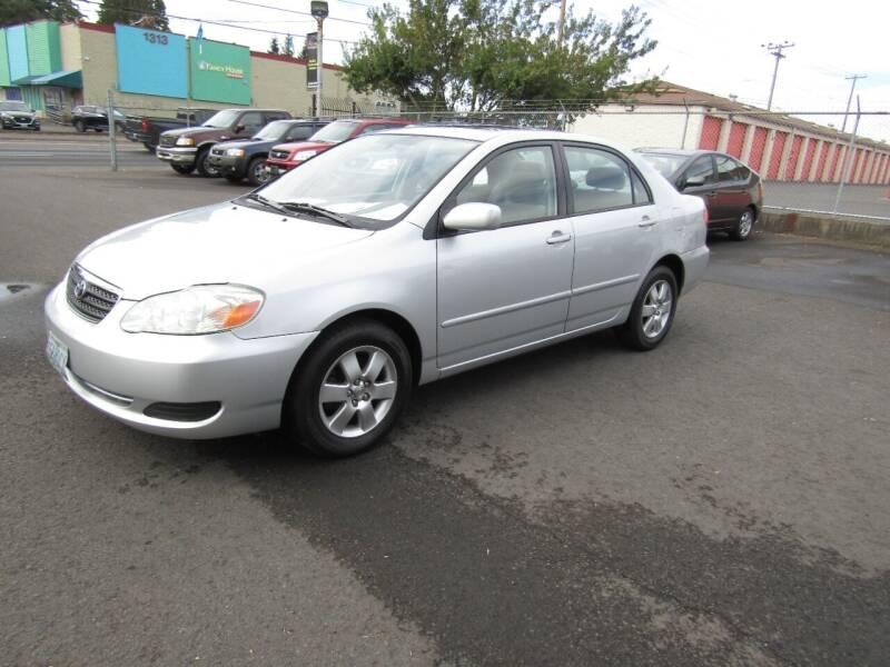 2006 Toyota Corolla for sale at ARISTA CAR COMPANY LLC in Portland OR