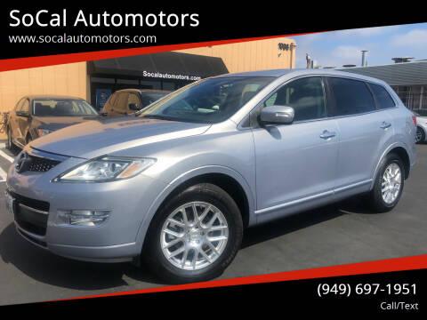 2008 Mazda CX-9 for sale at SoCal Automotors in Costa Mesa CA