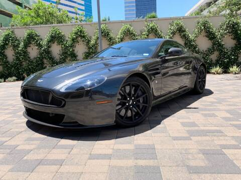 2017 Aston Martin V12 Vantage S for sale at ROGERS MOTORCARS in Houston TX