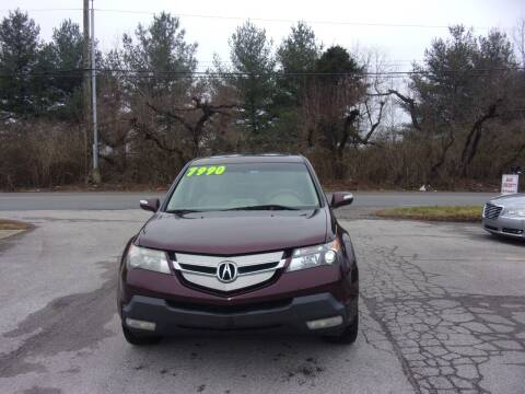 2009 Acura MDX for sale at Auto Sales Sheila, Inc in Louisville KY