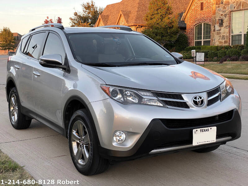 2015 Toyota RAV4 for sale at Mr. Old Car in Dallas TX