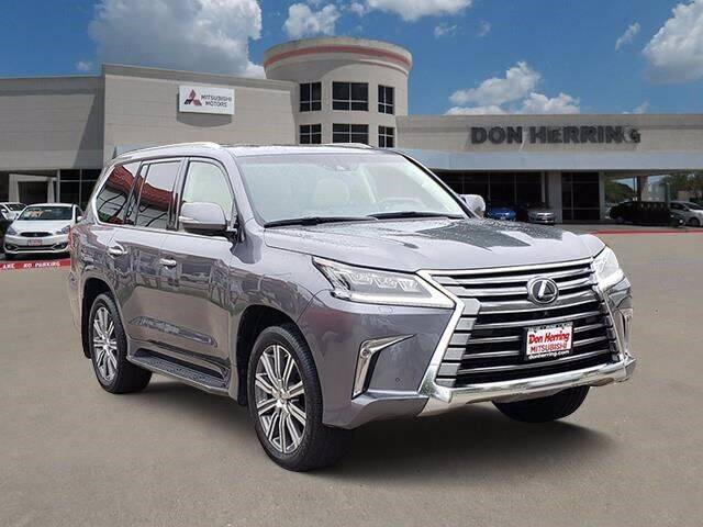 2017 Lexus LX 570 for sale at Don Herring Mitsubishi in Plano TX