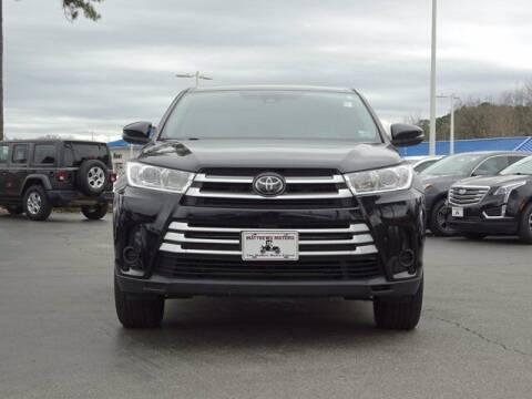 2018 Toyota Highlander for sale at Auto Finance of Raleigh in Raleigh NC