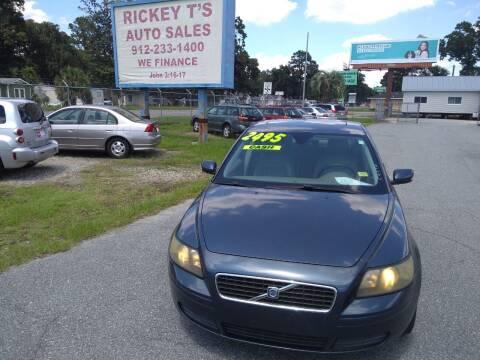 2005 Volvo S40 for sale at Rickey T's Auto Sales in Garden City GA