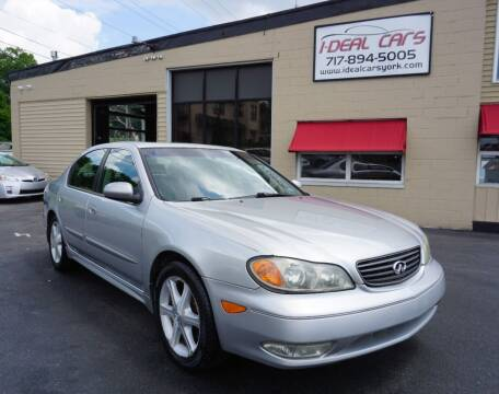 2002 Infiniti I35 for sale at I-Deal Cars LLC in York PA