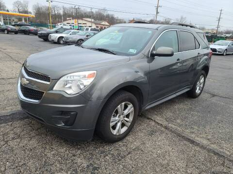 2012 Chevrolet Equinox for sale at Pro Motors in Fairfield OH