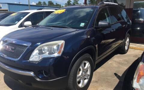 2011 GMC Acadia for sale at Bobby Lafleur Auto Sales in Lake Charles LA