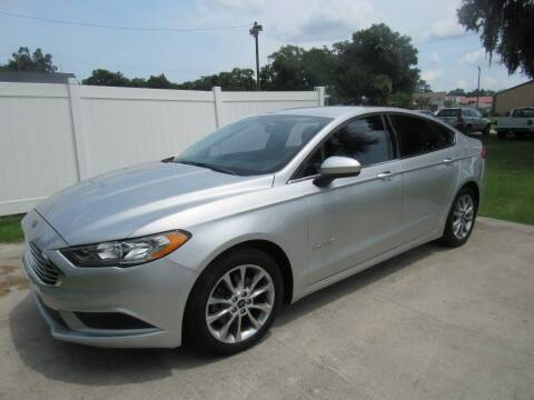 2017 Ford Fusion Hybrid for sale at D & R Auto Brokers in Ridgeland SC