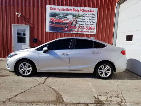 2016 Chevrolet Cruze for sale at Countryside Auto Body & Sales, Inc in Gary SD