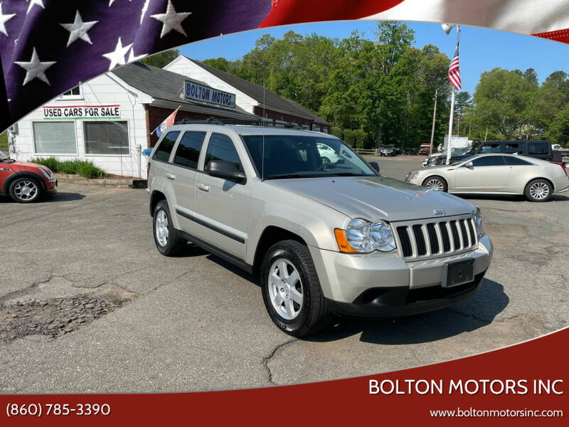 2009 Jeep Grand Cherokee for sale at BOLTON MOTORS INC in Bolton CT