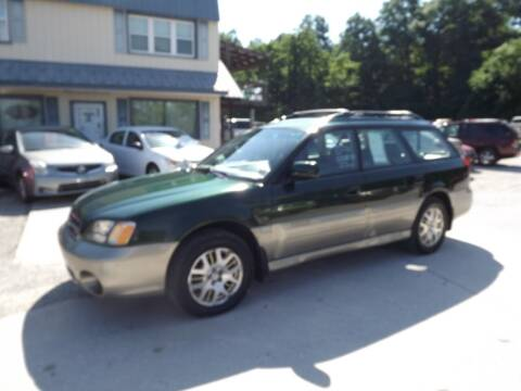 2002 Subaru Outback for sale at Country Side Auto Sales in East Berlin PA