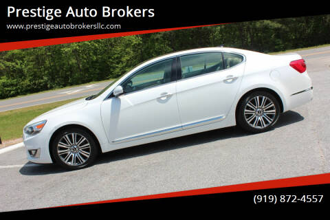 2014 Kia Cadenza for sale at Prestige Auto Brokers in Raleigh NC
