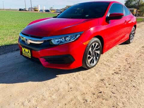2016 Honda Civic for sale at A AND A AUTO SALES in Gadsden AZ