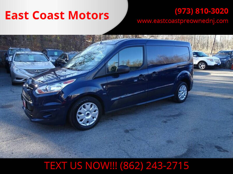 2016 Ford Transit Connect Cargo for sale at East Coast Motors in Lake Hopatcong NJ