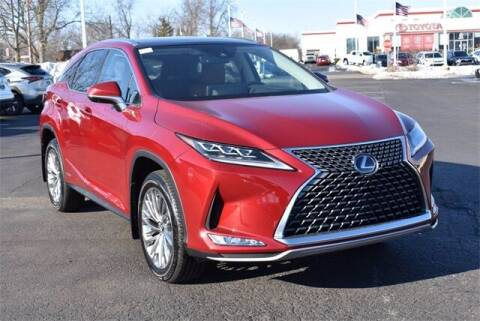 2021 Lexus RX 450h for sale at BOB ROHRMAN FORT WAYNE TOYOTA in Fort Wayne IN