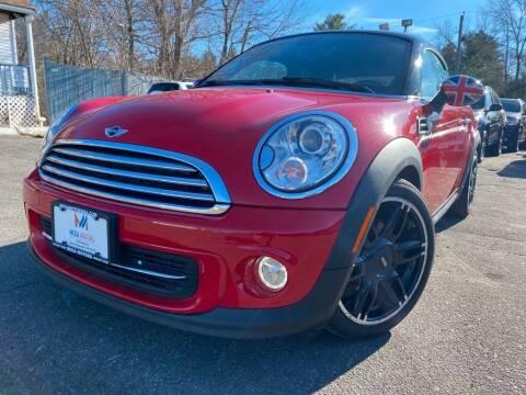 2015 MINI Coupe for sale at Mega Motors in West Bridgewater MA