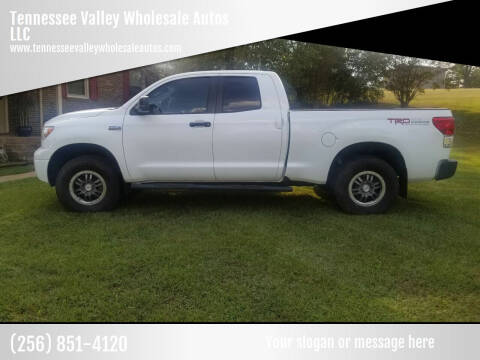 2012 Toyota Tundra for sale at Tennessee Valley Wholesale Autos LLC in Huntsville AL