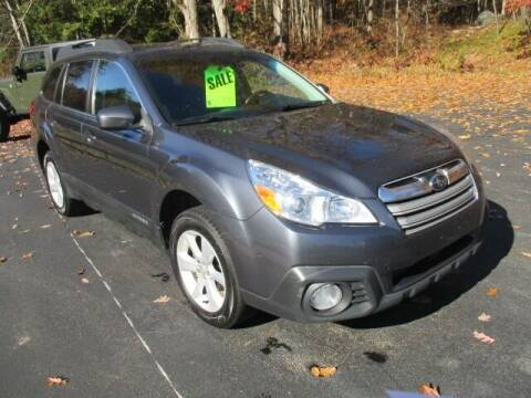 2014 Subaru Outback for sale at Route 4 Motors INC in Epsom NH