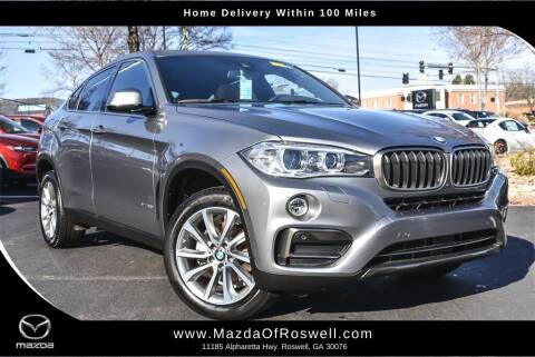 2017 BMW X6 for sale at Mazda Of Roswell in Roswell GA