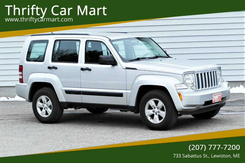 2012 Jeep Liberty for sale at Thrifty Car Mart in Lewiston ME