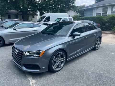 2016 Audi A3 for sale at RC Auto Brokers, LLC in Marietta GA