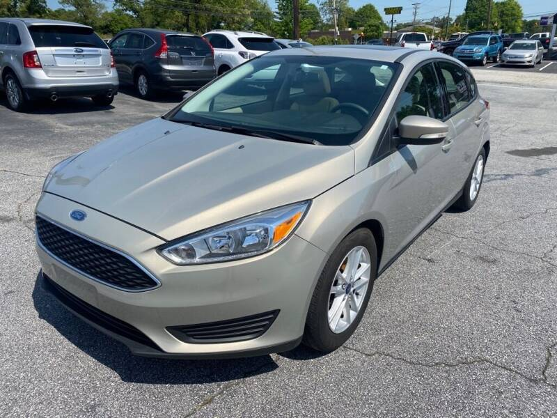 2016 Ford Focus for sale at Brewster Used Cars in Anderson SC