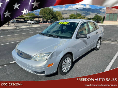 2005 Ford Focus for sale at Freedom Auto Sales in Albuquerque NM