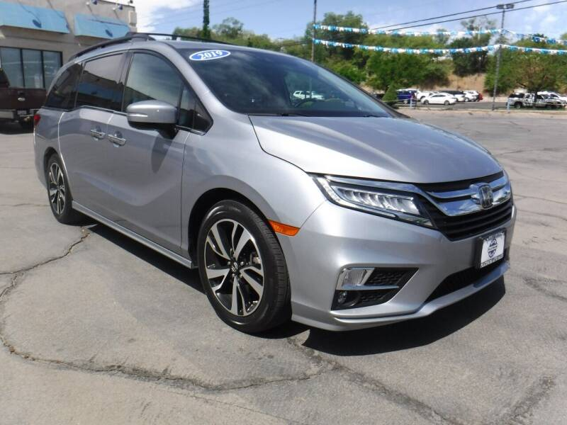 2019 Honda Odyssey for sale at Platinum Auto Sales in Provo UT