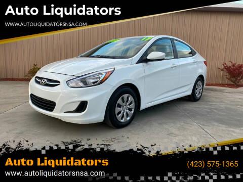 2017 Hyundai Accent for sale at Auto Liquidators in Bluff City TN